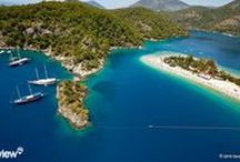 Turkey / The entire coastline of Turkey with photos and video from a helicopter. Fly over and enjoy the true view of seaside destinations, beaches, hotels, ports, marinas, anhorages.