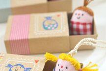 Crafts for kids / Con piedra,papel y tijera