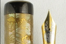 Danitrio / Danitrio's hand-crafted ebonite fountain pens are the result of a unique fusion of Asian, European, and American influences. All Danitrio pens are available from us as special order items - pens already in stock with Danitrio will generally ship in one week or less. / by Classic Fountain Pens