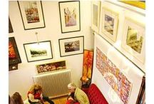 Exhibitions / Painting, photography and mosaics exhibitions set up by Litrivi