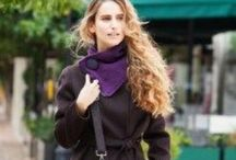Shawls and Scarves AW'13-14 / Our scarves are hand knitted one by one with a lot of personal care.