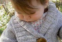 Vestes fillette tricot et crochet