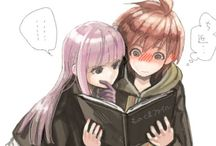 Kirigiri X Naegi / They're so KAWAII!!