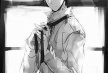Anime/Manga Monochrome / Beautiful<3 Kind of sad tho. Ah well...