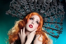Hats, veils, Costumes & hair-deco Magazine / Photography