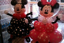 Disney balloons / Who doesn't love a bit of mickey and Minnie!