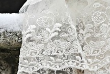 Lace,buttons and hearts.