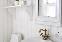 Romantic bathrooms.