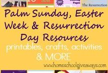 Easter - Elementary Bible Activities / Easter Bible lessons, crafts, games & activities for 6-11 yr olds