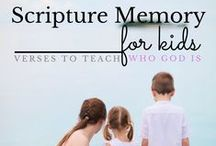 Bible Memory / Games & activities to learn Bible verses