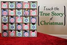Christmas Advent & Family Activities / Advent Calendar ideas, family traditions & devotions