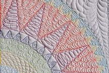 Quilting Designs  / It's not a quilt til its quilted / by Patty Estadt
