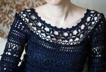 TEJIDO . 2 agujas y Crochet