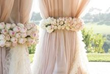 Weddings / Flower arrangements, decor, theme