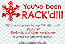Random Acts of CHRISTMAS Kindness / Learning to love, serve & give to others at Christmas