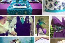 I love Purple Teal Turquoise