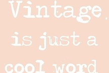 Cool Vintage! / by Marina Small