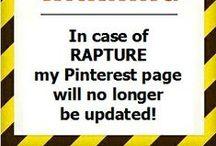 FYI Pinterest Info / by Kj's Inspiration