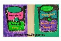 Art Education - Printmaking and other Media / Printmaking, silkscreening, stencils, mixed media, etc.