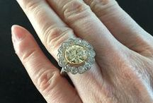 Antique Engagement Rings / Vintage Engagement Ring sourced from around the UK and Europe. Rare, stunning and amongst the most beautiful things out there...