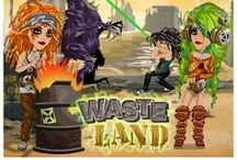 Waste Land / The Waste Land theme on MovieStarPlanet - all about dreadlocks, grunge and rips!