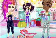 Shopping Spree / Inspiration for the Shopping Spree #MovieStarPlanet Weekly theme - where more is more! A little bit of everything for the shopping starved!