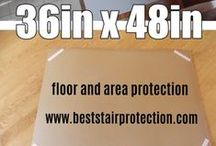 36in x 48in Floor Surface Protection Pads / 36in x 48in Floor Surface Protection Pads - Cover Your Floors Fast, Safe & Easy.