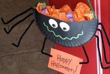 Ideas for Halloween / Re-pins of Halloween crafts, baking and activities I like the look of. I may even give some of them a go!