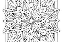 Desenhos para pintar, bordar e tudo o que sua imaginação permitir. / Paginas de desenhos diversos para pintar, bordar, etc...