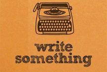 Writing Stuffs / Stuffs related to writing