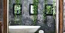 eco + luxe bath / ~ bathing + bathrooms > modern, rustic, bohemian, vintage, classic, baroque, all wonderful ~