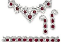 Antique rubies! / Some of the finest red gemstones from our site and across the web. Dramatic, passionate and HOT!