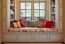 Reading Spaces / Gorgeous, cute or quirky reading spaces. Places to grab a cup of tea and curl up with a good book. Heaven!