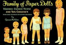 Oversize Paper Dolls / A few paper dolls for which scans are hard to find, mainly because they are difficult to scan.