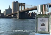 Brooklyn Violet Leaf Fragrance / Brooklyn Violet Leaf is a deep, rustic, edgy fragrance, redolent of an autumnal stroll along Brooklyn's violet-leaf clad cobblestone streets at twilight. This sensual eau de parfum channels Brooklyn's magical alchemy of newfound leafy affluence juxtaposed with the gritty bohemian artistry of secret gallery dens and lithe young musicians on the cusp of their first big hit.