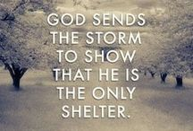 We rely on God... / by Kj's Inspiration