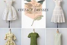 šaty vintage / Všetko, čo súvisí s oblečením