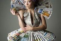 ecofashion couture / ~ chic looks, fair trade, ecofriendly, no fur ever, stylie ~