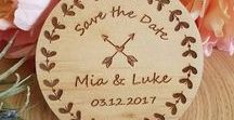 Rustic Weddings / Wedding Decorations, Wedding Cake Toppers, Wedding Tags,  Wood, Rustic, Vintage, Boho, Beach, Country, Nautical, Retro