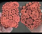 My video tutorials / Videos about paper crafting, cardmaking, tutorials etc.  See my YouTube channel for more:  https://www.youtube.com/user/SannaLippert