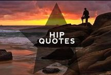 Hip Travel Quotes / Every traveler has a story and we curate these inspirational travel quotes to motivate you to go out into the world and create your own stories | Looking for more Hip Travel Quotes? Check out: hiptraveler.com