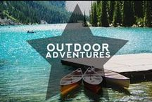 Hip Outdoor Adventures / Here are some of the Hip Outdoor Adventures we love to go on! National parks, Wilderness and Getting Active...Can you keep up? | More on: hiptraveler.com
