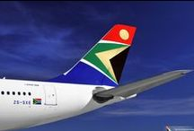 FlySAA - About Us / Bringing the world to Africa and taking Africa to the world for over 80 years we are the national airline of South Africa. With double daily flights from Heathrow to Johannesburg and easy onward connections, South African Airways offers flights to the largest route network within Southern Africa. / by South African Airways UK
