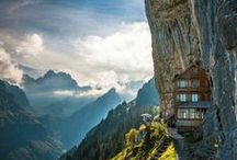 Alpine Escapes - / Follow this board for the world's best mountain vistas! / by HipTraveler