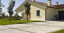 Home Path & Yard / Rivestimenti per gli spazi esterni. / Outdoor #concrete solutions for the home.