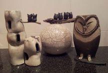 Mijn keramiek, my ceramics / Eigen werk, made by me
