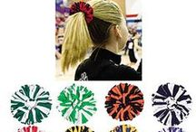 Pomchies / Wear them in your hair, on your ankles or around your wrists, use them as napkin rings or table decorations, use them to show spirit for you favorite team, and some fun to your uniform or anything else you can imagine!