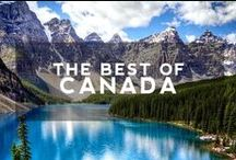 Hip Canada Travel / If you're wondering what to do in Canada, then look no further. We've gathered the Best of Canada in this board for you, from inspirational travel photos to practical tips || Find all your worldly travel inspiration at: hiptraveler.com - your journey begins here