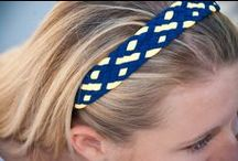 Wide Pom Braid Headbands / Wide Pom Braid Headbands and all Pomchie products are soft, fun and waterproof, made from washable Oeko Tex approved swimwear fabric.