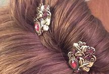 Pretty Lilla Rose Hairstyles / I am an independent Lilla Rose consultant. Lilla Rose offers comfortable, fashionable, pretty, durable, hair products, including flexi clips, hair bands, you pins, bobby pins, and more. Please visit my website: http://lillarose.biz/pretty